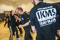 KMG UK Krav Maga Student Testing, Saturday 21st April 2012 at St Modans High School, Stirling..©Michael Schofield..