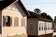 Campanha_MG, Brasil...Fachada de casas em Campanha...The Campanha facade...Foto: LEO DRUMOND / NITRO.....