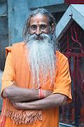 Sadhu, Ganges, Varanasi
