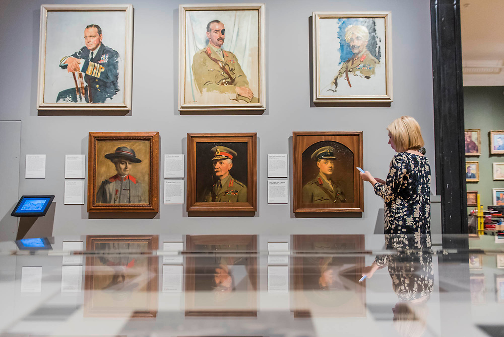 Prince Edward, Duke of Windsor (later King Edward VIII) as Prince of Wales, 1917, painted during the First World War by artist Frank O. Salisbury and other works - The National Portrait Gallery, London opens brand new gallery spaces devoted to its early 20th Century Collection on 4 November 2017. The creation of these new spaces within the Gallery's free permanent Collection, has been made possible by a grant from the DCMS/ Wolfson Museums & Galleries Improvement Fund. London 03 Nov 2017.