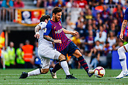 Leo Messi from Argentina during the Joan Gamper trophy game between FC Barcelona and CA Boca Juniors in Camp Nou Stadium at Barcelona, on 15 of August of 2018, Spain, Photo Xavier Bonilla / SpainProSportsImages / DPPI / ProSportsImages / DPPI
