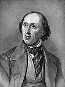 Hans Christian Andersen  (1805-1875) Danish author, particularly remembered for his fairy tales