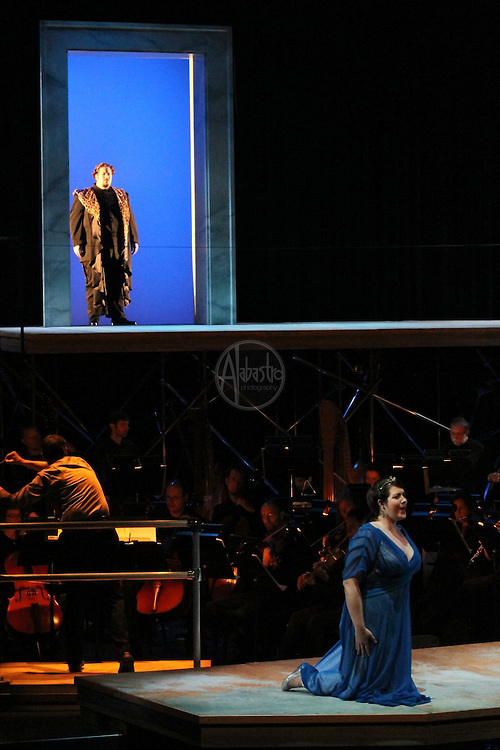 Seattle Opera's Young Artists Program presentation of Ariadne auf Naxos at Meydenbauer Center in Bellevue WA, April 2010.