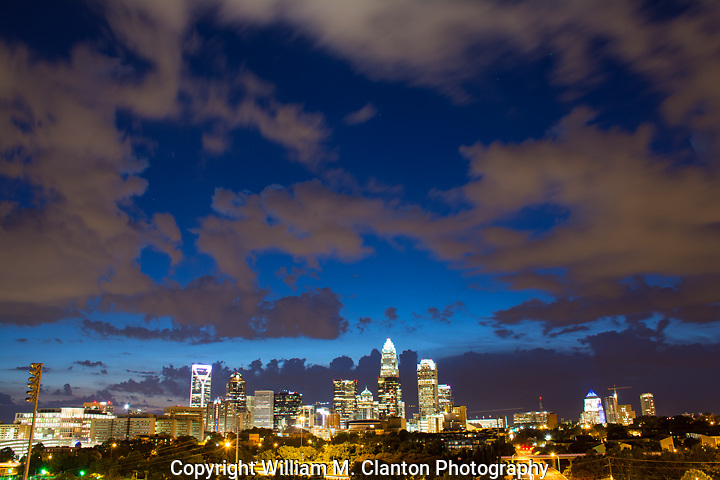 Another day comes to an end in the Queen City. This was the end of a beautiful summer day as clouds swiftly moved in.