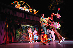 Dancers in costume perform at the Rumayor Cabaret; Pinar del Rio; Cuba,