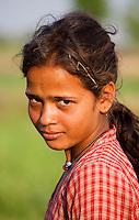 Nepali girl, Bardiya, Nepal