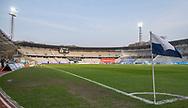 FODBOLD: Banen står klar til kampen i ALKA Superligaen mellem AGF og FC Helsingør den 13. april 2018 i Ceres Park. Foto: Claus Birch.