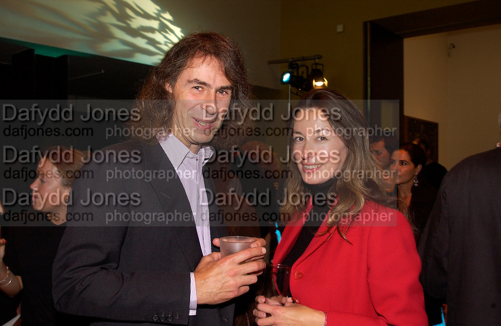 Ivor Braka and Ellen Cantor, Sigmar Polke private view, Tate,© Copyright Photograph by Dafydd Jones 66 Stockwell Park Rd. London SW9 0DA Tel 020 7733 0108 www.dafjones.com
