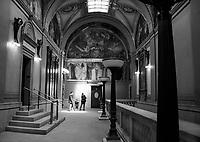 Boston Public Library.  Boston Walking Tour.  ©2016 Karen Bobotas Photographer