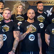 NLD/Rotterdam/20200224 - Stare down Boxing Influencers 2020, deelnemers 2020 waaronder Dave Roelvink, Donny Roevink, etc. etc.