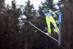 Katja Pozun of Slovenia during Qualification Round at Day 2 of FIS Ski Jumping World Cup Ladies Ljubno 2018, on January 27, 2018 in Ljubno ob Savinji, Slovenia. Photo by Urban Urbanc / Sportida