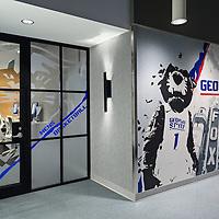Georgia State Basketball Locker Room 02 - Atlanta, GA