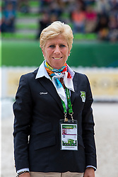 Francis Verbeek, Jury - Grand Prix Special Dressage - Alltech FEI World Equestrian Games™ 2014 - Normandy, France.<br /> © Hippo Foto Team - Leanjo de Koster<br /> 25/06/14