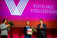 Constantijn reikt prijzen uit bij Nederlands Vioolconcours