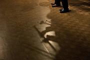 "San Jose State University's School of Music and Dance's Thursday Morning Revival performs ""Bourbon Street Parade"" during Humanities & Arts Day Student Showcase at San Jose State University's Student Union Barrett Ballroom in San Jose, California, on October 25, 2013. (Stan Olszewski/SOSKIphoto)"