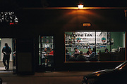 Committee for a Better Arvin meets inside a notary public office ever Friday night in Arvin, California. The group meets to talk about various concerns for the community, many of which are environmental.