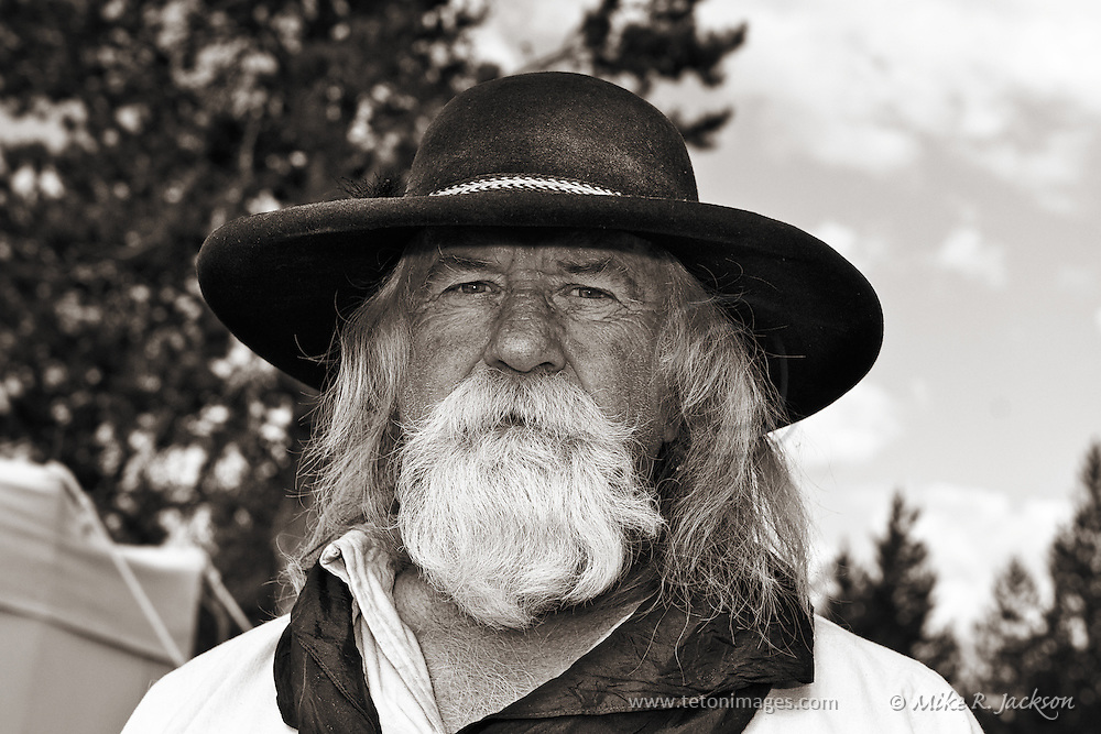 Trader at the West Yellowstone Rendezvous.