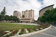 San Jose, California, USA, Plaza Park, city centre and business district