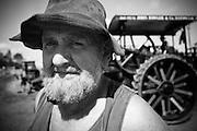 Steam enthusiast, Brian Burke.
