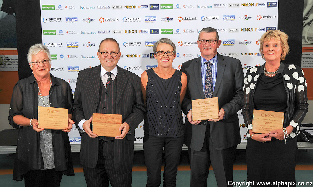 Hawkes Bay Sports Awards, PG Arena, Napier, New Zealand, 21 May 2016. Photo by  alphapix