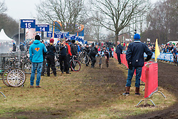Lars van der Haar (NED) of Team Giant - Alpecin, Men Elite, Cyclo-cross World Cup Hoogerheide, The Netherlands, 25 January 2015, Photo by Pim Nijland / PelotonPhotos.com