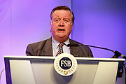 Shadow Secretary of State for the department of Business, Enterprise and Regulatory Reform, Ken Clarke, MP address the FSB national conference at Celtic Manor, Newport, Wales