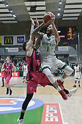 Shot of Terray Petteway of Nanterre 92 team and defense of Konstantin Klein of Telekom Baskets Bonn during the Champions League, Group D, basketball match between Nanterre 92 and Telekom Baskets Bonn on January 24, 2018 at Palais des Sports Maurice Thorez in Nanterre, France - Photo I-HARIS / ProSportsImages / DPPI