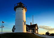 Nobska Point Light, Woods Hole, Cape Cod, Massachusetts,, USA