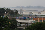 Looking across the city to the Congo River. La Ville, Kinshasa, DRC...© Zute Lightfoot.www.lightfootphoto.com