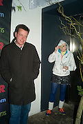 SUGGS AND SARAH LESNIEWSKI, Beyond the Rave, Celebration of Hammer Film's  first horror movie broadcasr on MYSpace. Shoreditch House. London. 16 April 2008.  *** Local Caption *** -DO NOT ARCHIVE-© Copyright Photograph by Dafydd Jones. 248 Clapham Rd. London SW9 0PZ. Tel 0207 820 0771. www.dafjones.com.