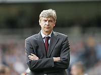 Photo: Lee Earle.<br /> West Ham United v Arsenal. The FA Barclays Premiership. 29/09/2007. Arsenal manager Arsene Wenger.