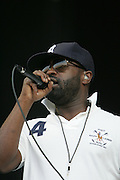 The Roots performs during the second day of the 2007 Bonnaroo Music & Arts Festival on June 15, 2007 in Manchester, Tennessee. The four-day music festival features a variety of musical acts, arts and comedians..Photo by Bryan Rinnert.