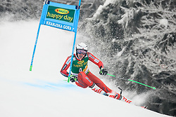 Henrik Kristoffersen of Norway competes during 1st run of Men's GiantSlalom race of FIS Alpine Ski World Cup 57th Vitranc Cup 2018, on March 3, 2018 in Kranjska Gora, Slovenia. Photo by Ziga Zupan / Sportida