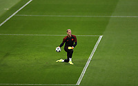 Football - 2016 / 2017 Champions League - Qualifying Play-Off, Second Leg: Manchester City [5] vs. Steaua Bucharest [0]<br /> <br /> Joe Hart of Manchester City before the match, at the Ethihad Stadium.<br /> <br /> COLORSPORT/LYNNE CAMERON