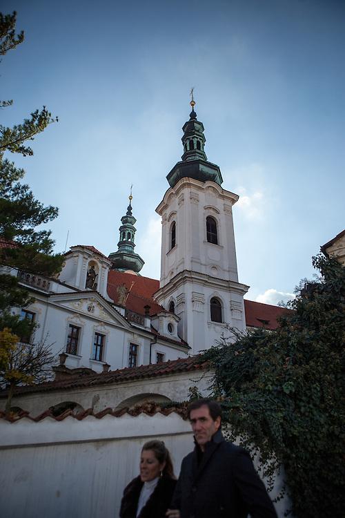 Das Kloster Strahov.