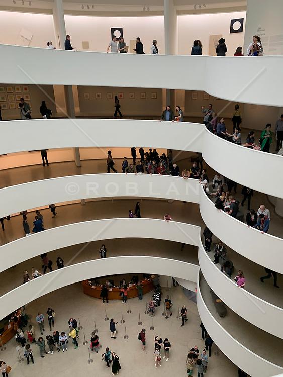 The Guggenheim Museum in New York City