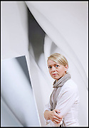 ARTIST ALISON WATT IN HER STUDIO IN EDINBURGH.
