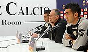 Udine, 14 marzo 2012..UEFA Europa League 2011/2012.  8^ di finale, ritorno..Stadio Friuli..Udinese vs AZ Alkmaa..Nella Foto: Conferenza stampa con Francesco Guidolin e Giampiero Pinzi..© foto di Simone Ferraro