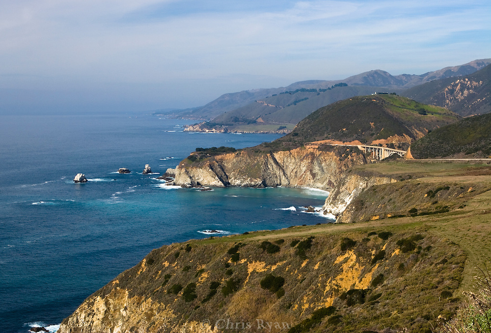Bixby Bridge near Big Sur, California