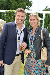 MARK & ANNE STEWART at the Cartier hosted Style et Lux at The Goodwood Festival of Speed at Goodwood House, West Sussex on 26th June 2016.