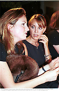 Emily Oppenheimer, Tamara Yeardye. Fashion Show. Baron Steven Bentinck house, 20  The Vale. London SW3. 17/9/97. film 97766f9a<br />© Copyright Photograph by Dafydd Jones 66 Stockwell Park Rd. London SW9 0DA Tel 020 7733 0108 www.dafjones.com