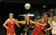 Rotorua-Netball, New Zealand v England, 1st test