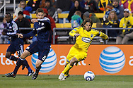 8 MAY 2010:  during MLS soccer game between New England Revolution vs Columbus Crew at Crew Stadium in Columbus, Ohio on May 8, 2010.