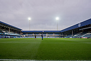general shot of the stadium at the EFL Sky Bet Championship match between Queens Park Rangers and Fulham at the Loftus Road Stadium, London, England on 29 September 2017. Photo by Sebastian Frej.