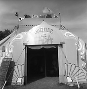 'Mummer & Dada' tent, at Glastonbury, 1989.