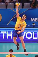 Carbonera Eder BRA.<br /> Torino 28-09-2018 Pala Alpitour <br /> FIVB Volleyball Men's World Championship <br /> Pallavolo Campionati del Mondo Uomini <br /> Third round<br /> Brasile - Usa / Brazil - USA<br /> Foto Antonietta Baldassarre / Insidefoto