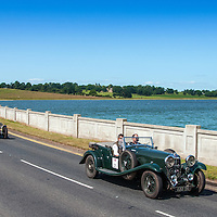 Stuart Anderson and Richard Lambley in their Bentley 4¼   on the Royal Automobile Club 1000 Mile Trial 2015