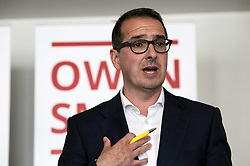 © Under licence to London News Pictures. 08/08/2016 Owen Smith speaking at a rally in Darlington, County Durham, UK. The Labour leadership candidate has called for the election deadline to be extended in the light of the High Court ruling that 130,000 party members were illegally barred from voting.  Photo Credit: Stuart Boulton/LNP