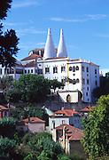 Nationa Palace of Sintra, Lisbon, Portugal<br />