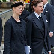 LUX/Luxemburg/20190504 -  Funeral<br /> of HRH Grand Duke Jean, Uitvaart Groothertog Jean, Prins Félix en prinses Claire